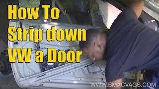 VW Golf Jetta Mk5 Door Panel Removal
