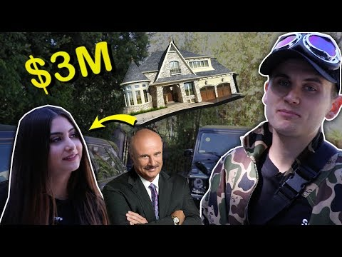 BEVERLY HILLS BRAT (from Dr. Phil) SHOWS $3M HOUSE!