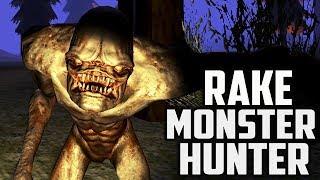 ОХОТА НА РЕЙКА! Поймал СТРАШНОГО МОНСТРА в игре Rake Monster Hunter от Cool GAMES