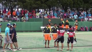25日 ソフトテニス男子 団体 羽黒×東北 決勝 2 thumbnail