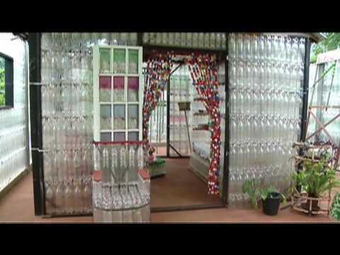Casa Feita De Garrafa Pet Youtube
