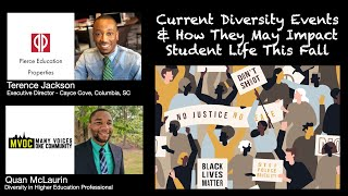 Current Diversity Events & How They May Impact Student Life This Fall