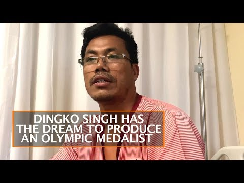 DINGKO SINGH HAS THE DREAM TO PRODUCE AN OLYMPIC MEDALIST