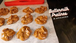 How to Make Buttermilk Pralines
