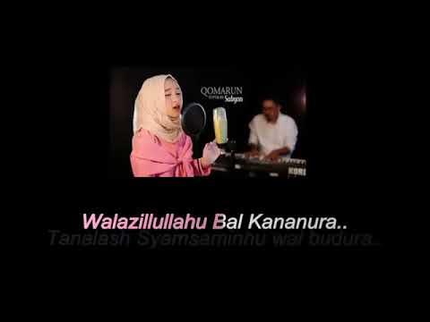 Qomarun lirik   Sabyan