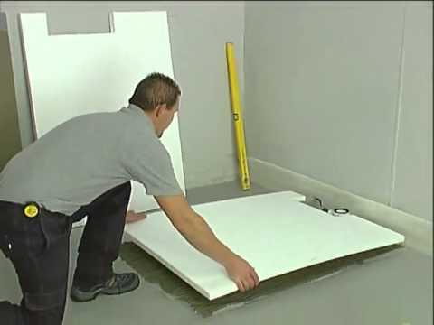 Posa Piatto Doccia Sopra Pavimento.Valsir Design Sistema Doccia A Filo Pavimento X Border Youtube