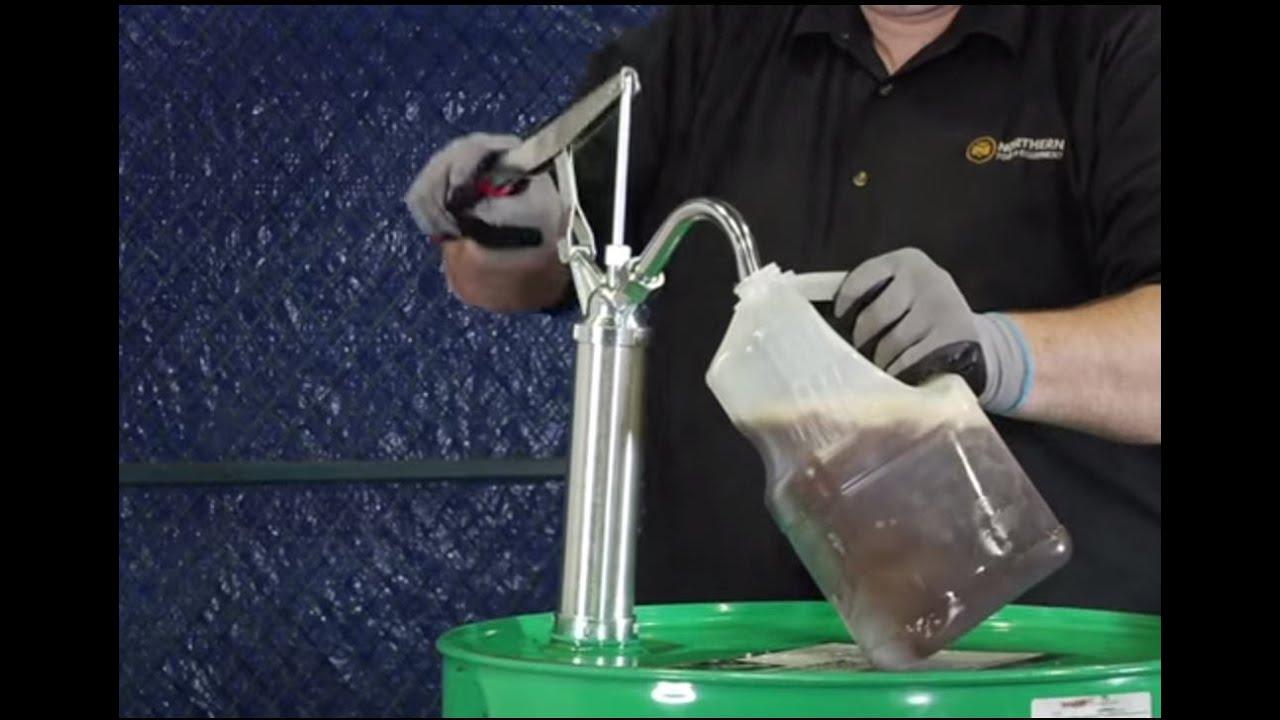For 15 Ironton Aluminum Lever Action Drum Pump to 55-Gallon Drums
