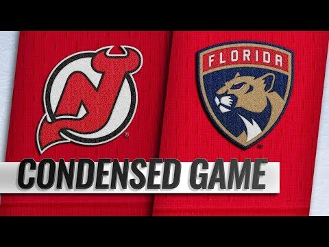 save off 5a17c e343a New Jersey Devils vs Florida Panthers | Nov.26, 2018 | Game Highlights |  NHL 2018/19 | Обзор матча