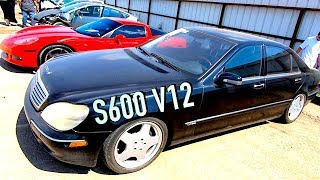 Buying a 80 IAA 2001 Mercedes S600 - Does it run?? PT1