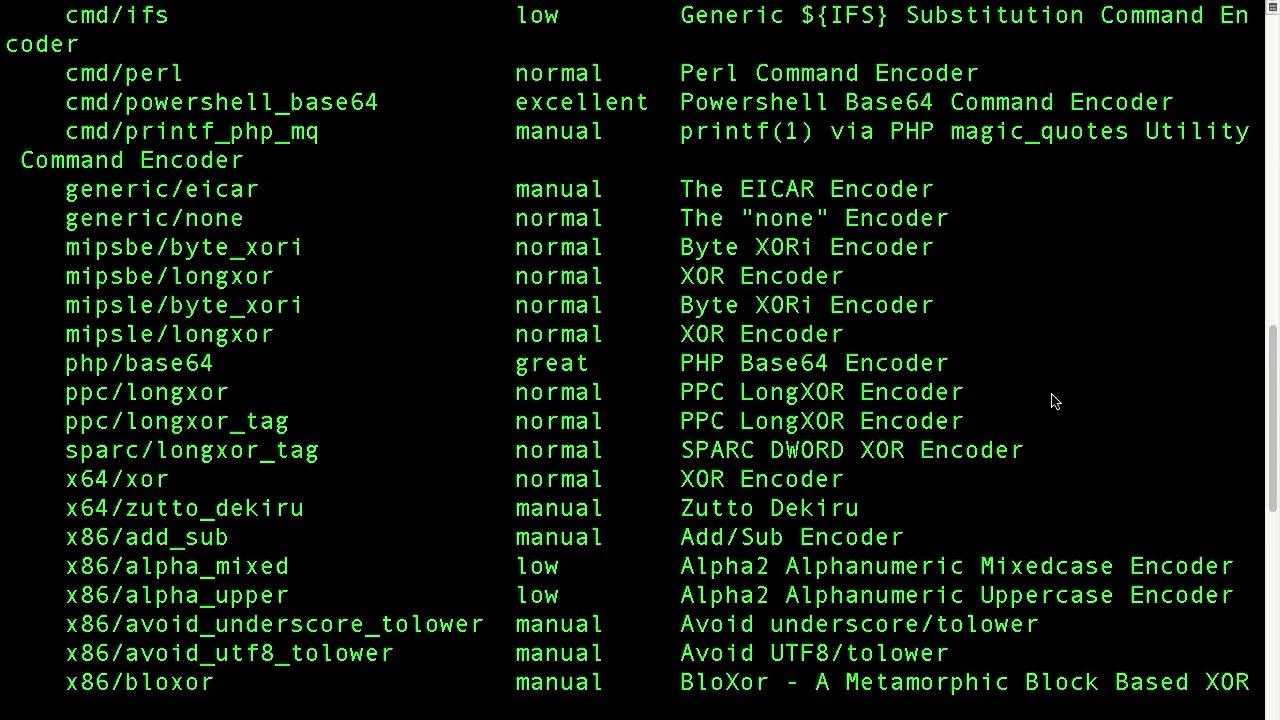 08 MSFVenom and Malware Payload Generation