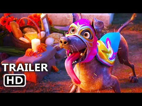 COCO Dante's Lunch  2017 Disney Pixar Animation Movie HD