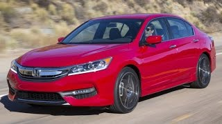 2016 Honda Accord Start Up and Review 2.4 L 4-Cylinder