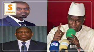 Thierno lo  Macky sall ak Sonko  mo molèn  Senegal  23 juin Domako.........