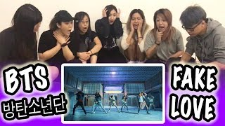 [KPOP REACTION] BTS 방탄소년단 -- FAKE LOVE