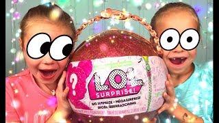 GIANT LOL Surprise #Куклы ЛОЛ LOL Dolls Распаковка Игрушек для Девочек ГИГАНТСКИЙ #Сюрприз #ad
