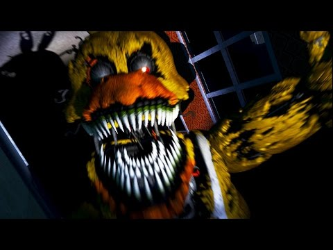 Five Nights at Freddy's Stream! - GOT SCARED MORE THAN 3 Times |   ALONE ( ; _ ; )