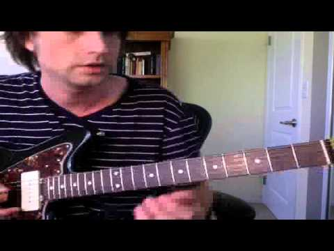 "Guitar Lesson ""Digital"" by Joy Division (How To Play Tutorial)"