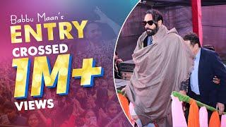 Entry of Babbu Maan | Babbu Maan live 2019 | BFGI Bathinda