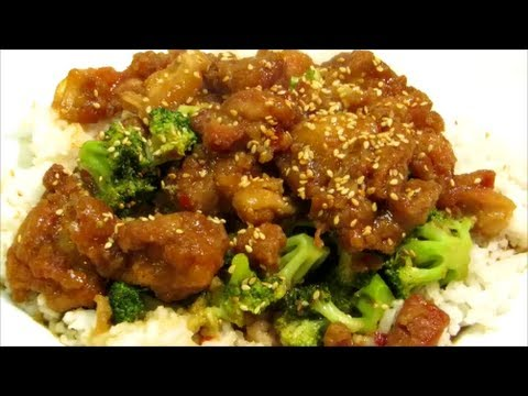 How To Make Sesame Chicken Easy Chinese Food Recipe Youtube
