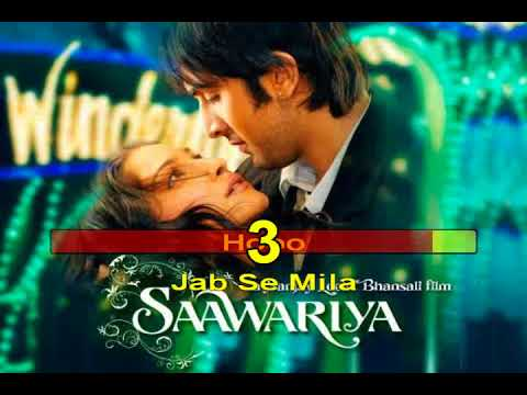 Jabse Tere NainaSaawariya 2007Hindi Karaoke from Hyderabad Karaoke Club
