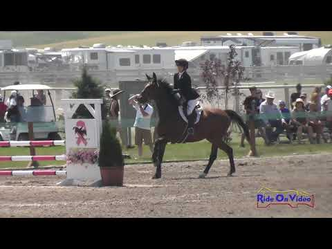 567S Lily Seymour on As You Wish JR Novice Show Jumping Rebecca Farm July 2018
