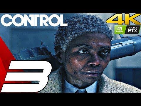 CONTROL - Gameplay Walkthrough Part 3 - Old Boys Club (Full Game) 4K 60FPS RTX