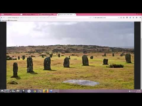 The Hurlers Stones & Orion
