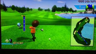 Most Epic Game of Wii Sports Golf | Video Game Video