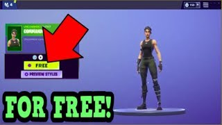 COMMENT OBTENIR LA PEAU COMMANDO GRATUITEMENT! (Fortnite Old Skins)