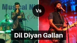 Gambar cover Arijit Singh vs Atif Aslam Live - Dil Diyan Gallan