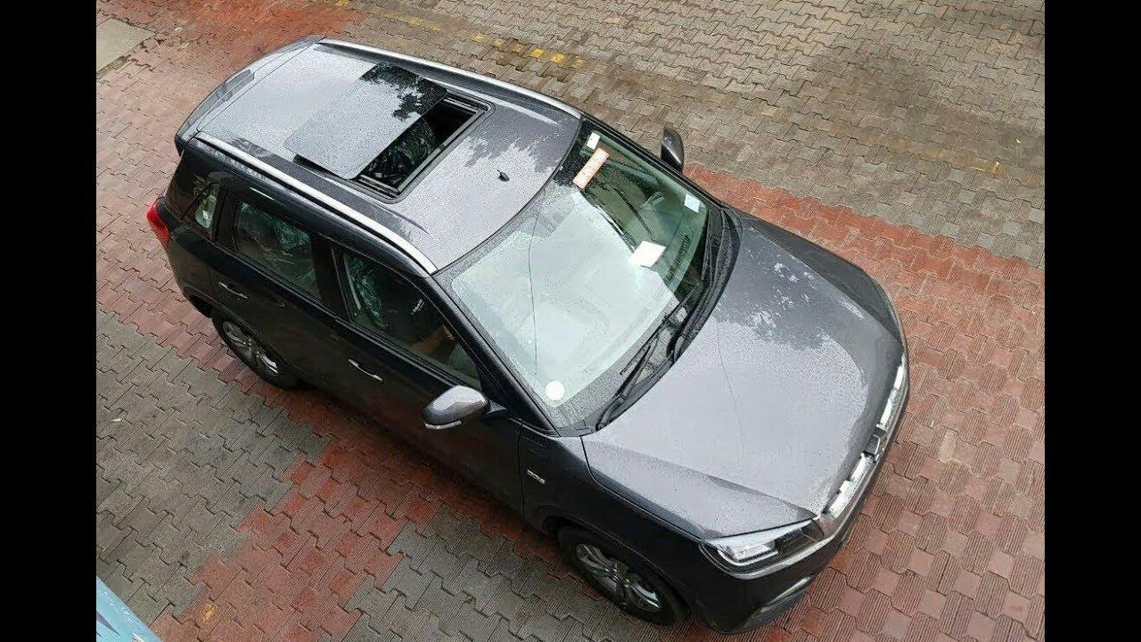Maruti Suzuki Vitara Brezza Modified With Sunroof H300