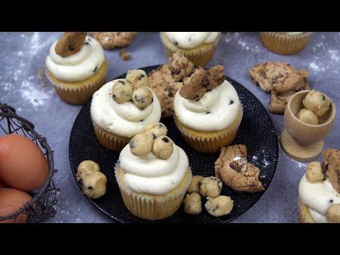 recette-des-cookie-dough-cupcakes-(english-subtitles)---william's-kitchen