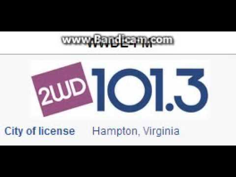 "25 Days of Christmas Radio EXTRA - WWDE: ""101.3 2WD"" Hampton, VA TOTH ID 10pm ET--12/08/15"