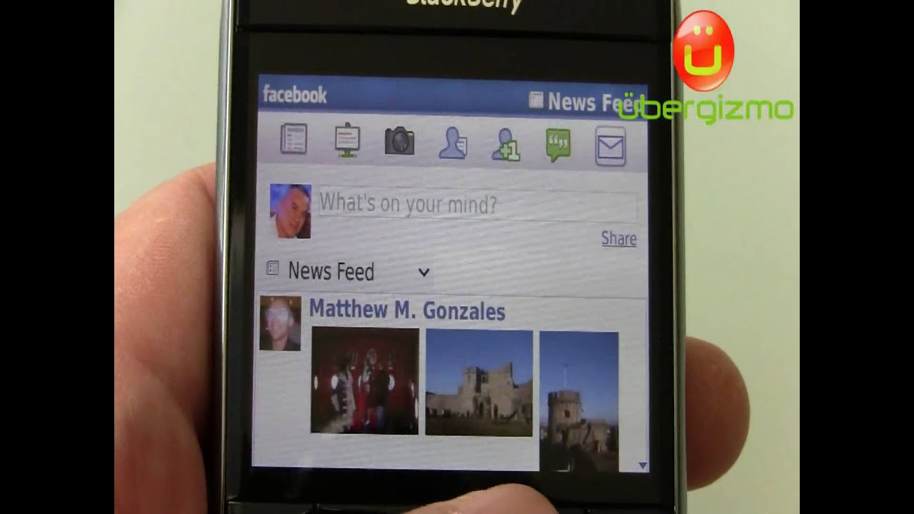 blackberry bold 9700 facebook app in action youtube rh youtube com BlackBerry Bold 9900 White BlackBerry Bold 9900 White