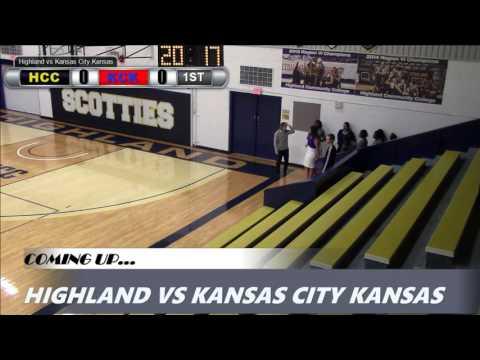 Highland Women's Basketball vs. Kansas City Kansas CC