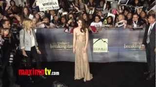 """Kristen Stewart, Robert Pattinson, Taylor Lautner TWILIGHT """"Breaking Dawn Part 2"""" Premiere ARRIVALS"""