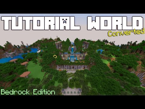 Xbox 360 Tutorial World Download For The Bedrock Edition Of