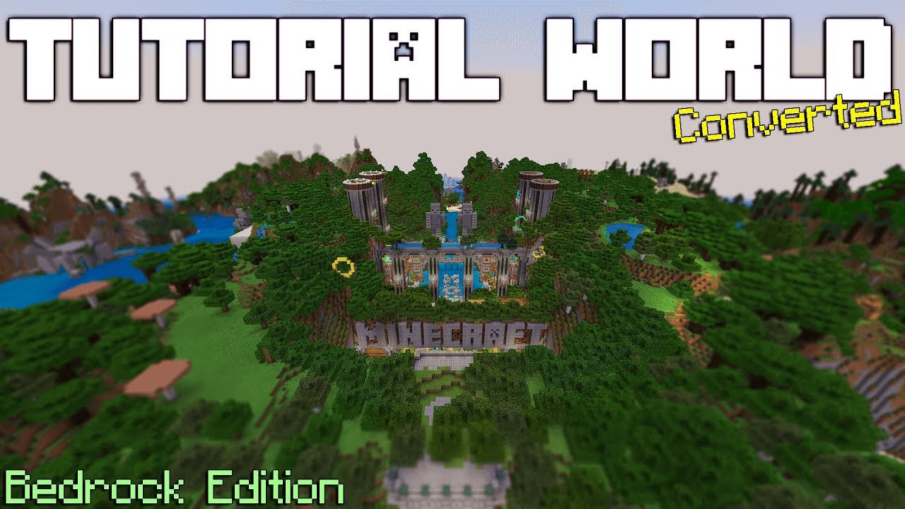 Xbox 360 Tutorial World Download For The Bedrock Edition Of Minecraft(TU70)