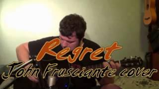 Regret [John Frusciante Guitar cover] with John Frusciante vocals