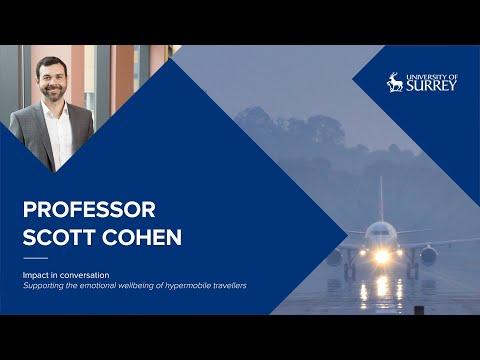 Play video: Impact in Conversation: Professor Scott Cohen | University of Surrey