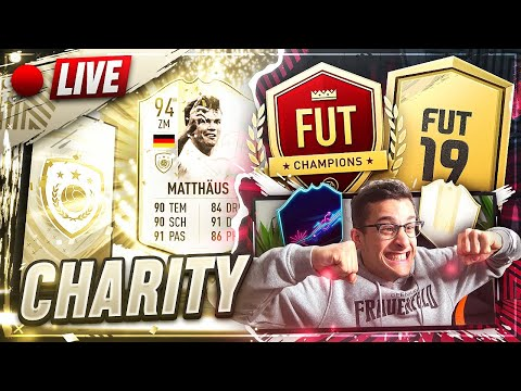 FIFA 19: 12STD CHARITY STREAM! PACK OPENING, SBC´S, ABOGAMES & MEHR! 50K ABOSPECIAL