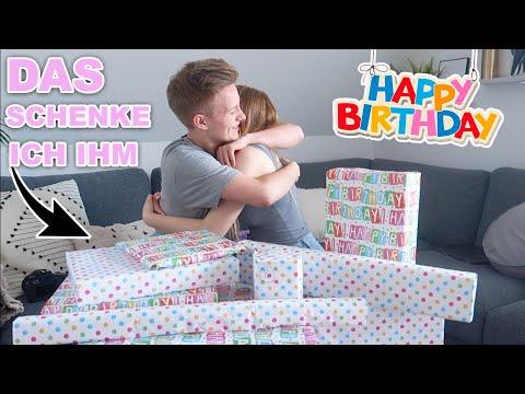 DAS schenke ich meinem Freund zum 18. Geburtstag 🎁🎉