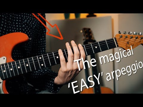 One shape for all arpeggios | Master the fretboard!