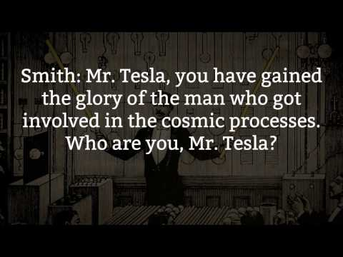 Nikola Tesla's Last Interview - Everything Is the Light