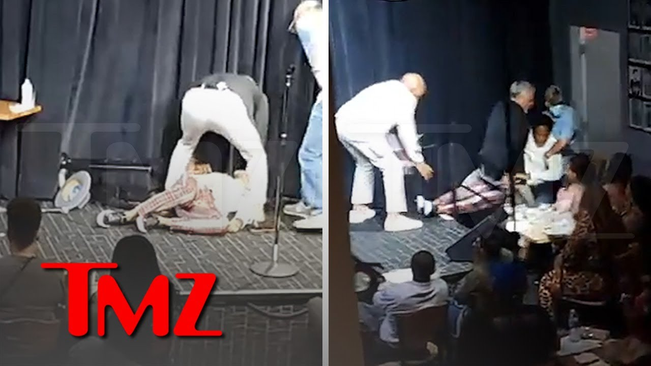 D.L. Hughley Passes Out, Collapses On Stage in Nashville | TMZ
