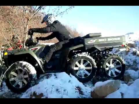 Big Boss 6x6 test Polaris Srbija QuadSquad