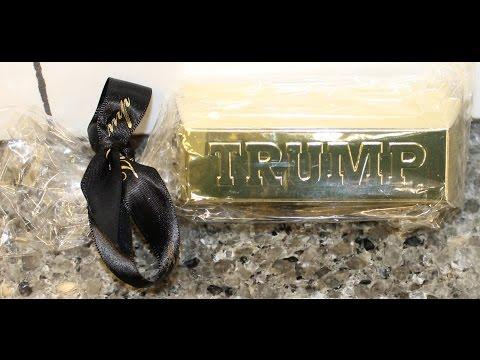 TRUMP Gold Bullion Chocolate Bars Review