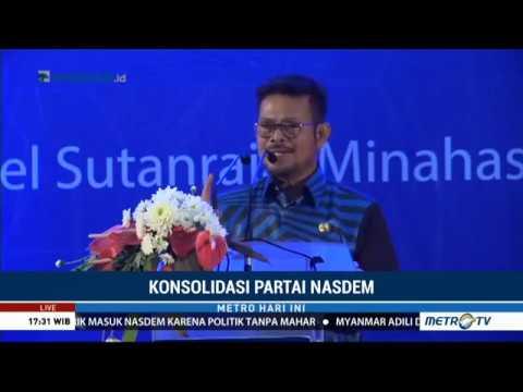 Gubernur Sulsel dan Bupati Minahasa Utara Merapat ke NasDem