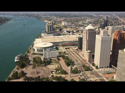 Detroit Marriott Penthouse 3 Bedroom Suite Part 2