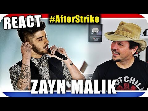 ZAYN MALIK - Pillow Talk - ONE DIRECTION - Marcio Guerra Reagindo Music Live React #AfterStrike